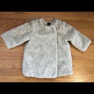 Gap Sherpa Coat - 6-12 months